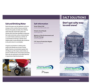 cover of road salt fact sheet