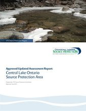 Central Lake Ontario Approved Updated Assessment Report cover