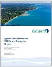 cover of CTC Source Protection Region approved plan