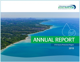 cover page of CTC source protection region annual report