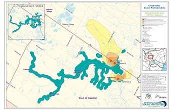 Credit Valley Source Protection Area Wellhead Protection Areas - Inglewood