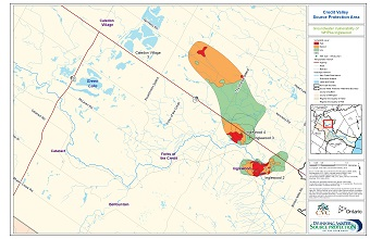 Credit Valley Source Protection Area Groundwater Vulnerability of WHPAs - Inglewood