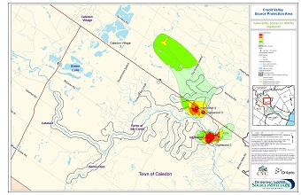 Credit Valley Source Protection Area Vulnerability Scores for WHPAs - Inglewood