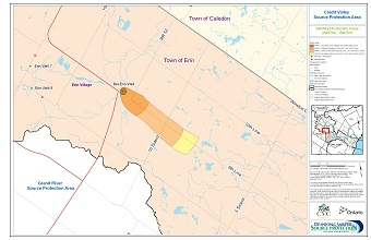 Credit Valley Source Protection Area Wellhead Protection Areas - Bel-Erin