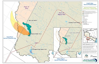 Credit Valley Source Protection Areas - Acton - Davidson Wells