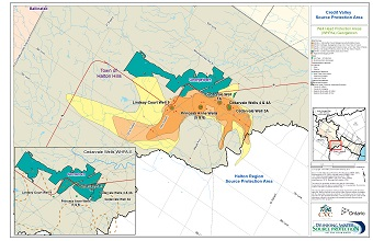 Credit Valley Source Protection Area Well Head Protection Areas (WHPAs) - Georgetown