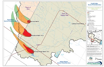 Credit Valley Source Protection Area Groundwater Vulnerability of WHPAs - Acton