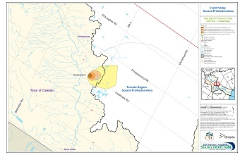 Credit Valley Source Protection Area Well Head Protection Areas - Cheltenham