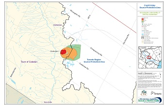 Credit Valley Source Protection Area Groundwater Vulnerability of WHPAs - Cheltenham