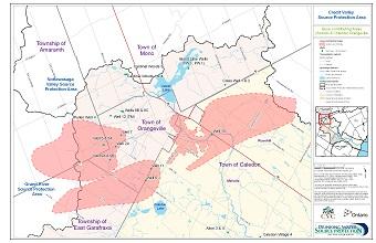 Issue Contributing Areas - Sodium and Chloride - Orangeville