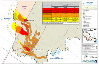 Areas of Significant Moderate or Low Threats in Acton - Chemical