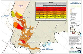 Areas of Significant Moderate or Low Threats in Acton - Pathogens