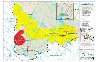 Water Budget Quantity Risk Areas - Halton Hills
