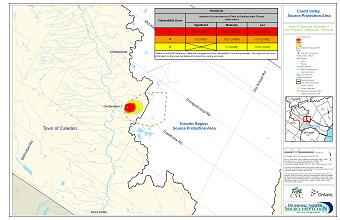 Areas of Significant Moderate or Low Threats in Cheltenham - Chemical