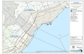 Credit Valley Source Protection Area Spill Scenarios - Burloak Intake