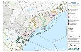Credit Valley Source Protection Area Spill Scenarios - Lorne Park Intake