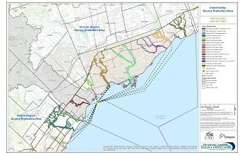 Credit Valley Source Protection Area Spill Scenarios - Lakeview Intake