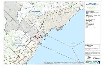 Credit Valley Source Protection Area Spill Scenarios - R.L. Clark Intake