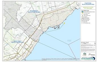 Credit Valley Source Protection Area Spill Scenarios - R.C. Harris Intake