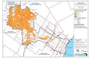 Livestock Density within SGRAs